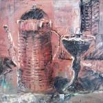 Stillleben mit einem Wasserkocher | Натюрморт с чайником