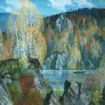 Herbst auf der Tschussowaja | Осень на чусовой