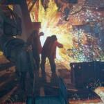 "Tryptichon ""Menschen des Feuers"" | Триптих ""Люди огня"""